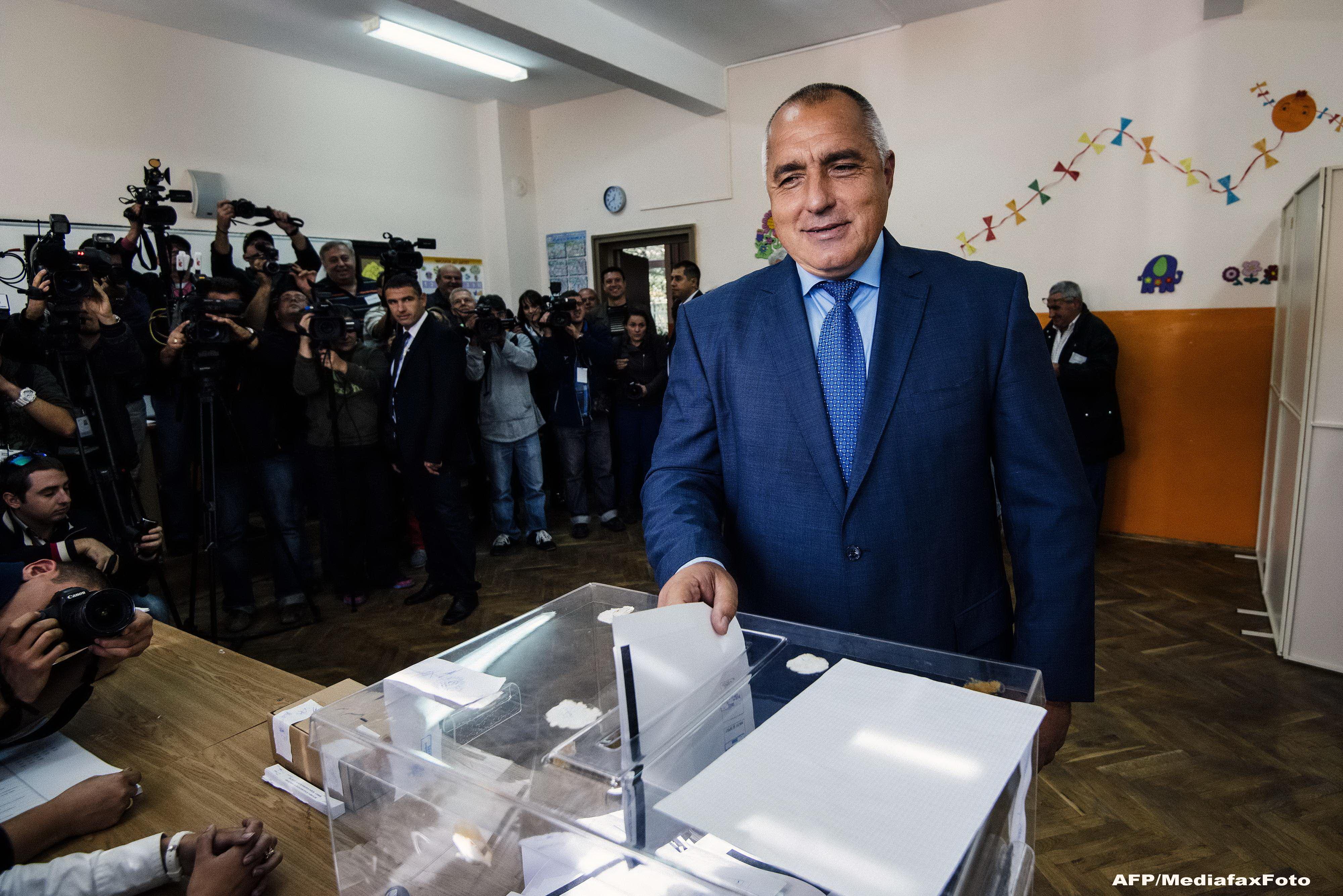 Alegeri legislative in Bulgaria. Partidul fostului premier Boiko Borisov a castigat, insa nu poate face o majoritate