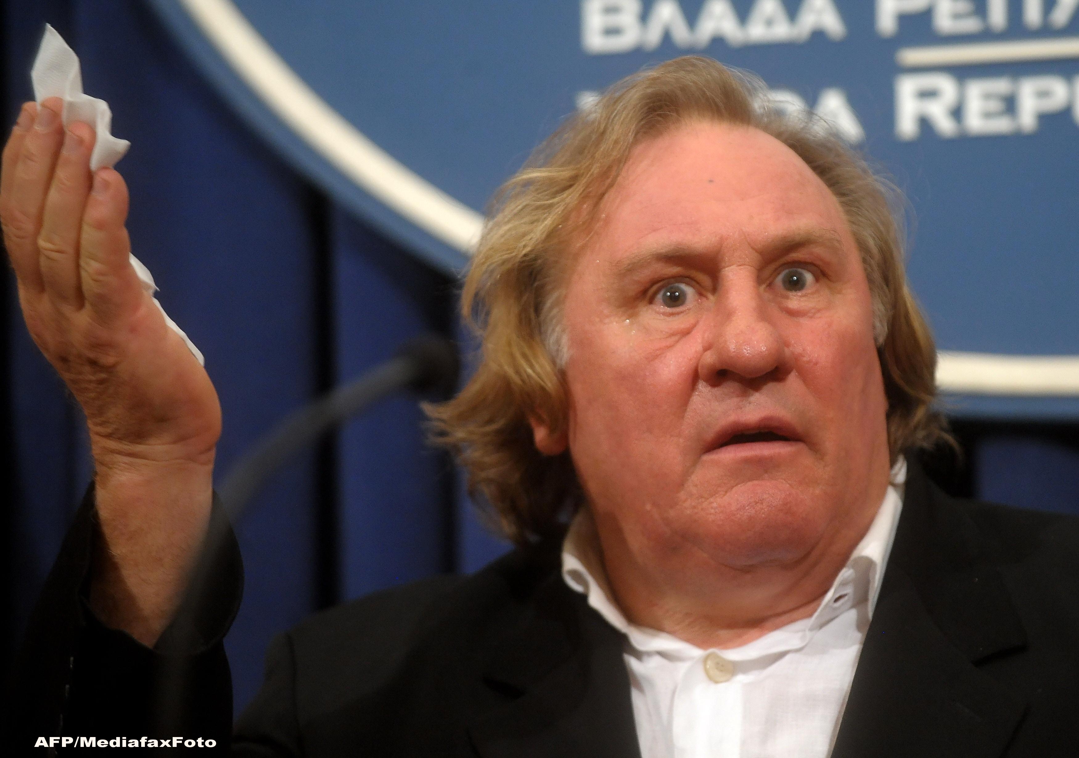 Actorul francez Gérard Depardieu a fost inculpat pentru viol