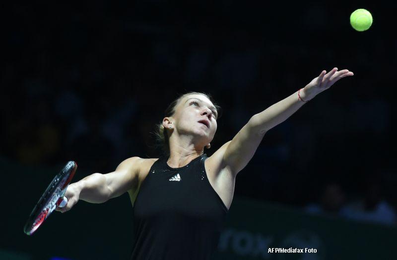 Cele mai frumoase puncte ale partidei Simona Halep vs Eugenie Bouchard. VIDEO