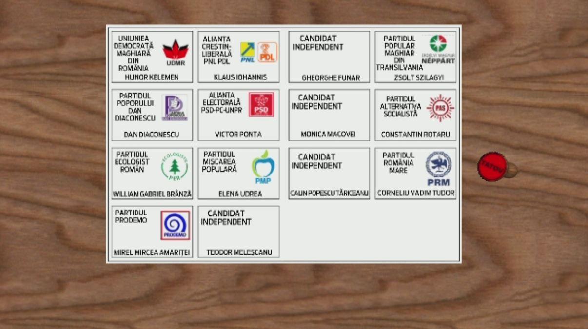 ALEGERI PREZIDENTIALE 2014. Presedintii sectiilor de vot vor putea comunica permanent numarul celor care au votat