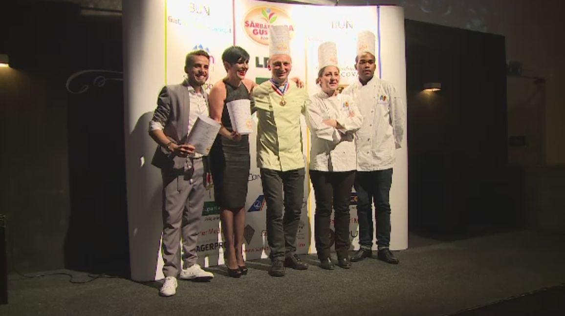Chef Patrizia si Chef FOA, la Sarbatoarea Gustului. Festivalul a adus la Bucuresti cei mai buni 20 de bucatari din Europa