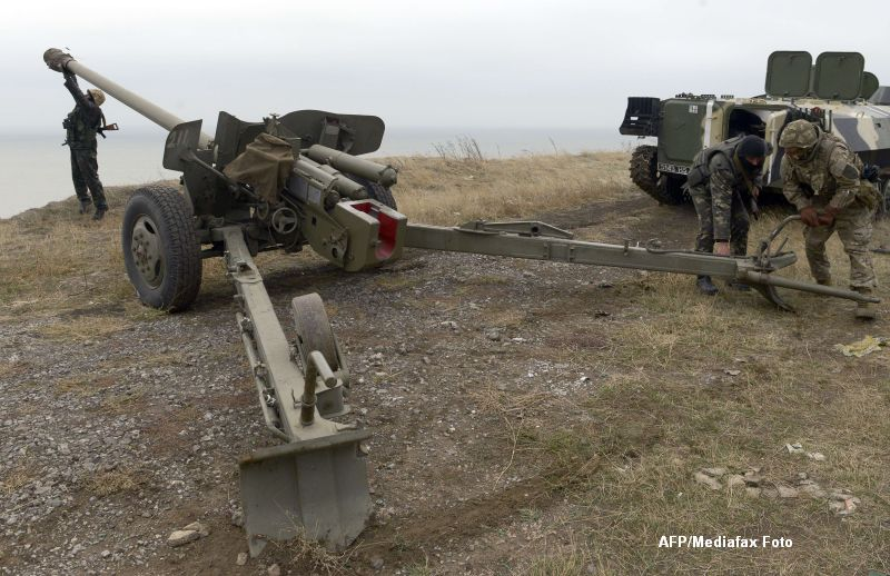 Criza in Ucraina. La doar o zi de la alegerile parlamentare, in Donetk rasuna tiruri intense de artilerie