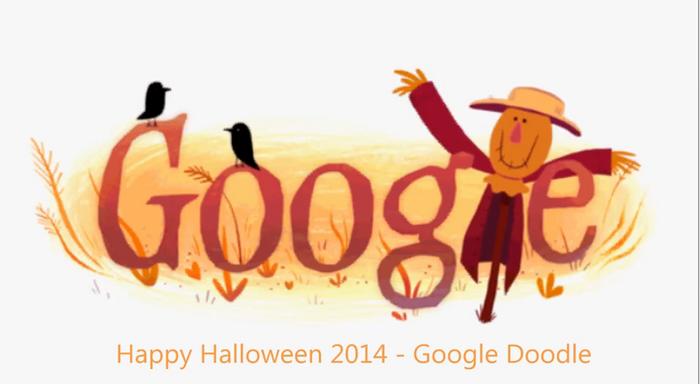 HALLOWEEN 2014: GOOGLE sarbatoreste Halloween-ul cu un nou DOODLE. Cum arata Ziua Vrajitoarelor in varianta GOOGLE DOODLE