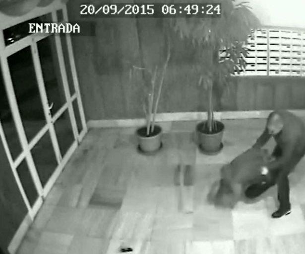 Un Dj din Ibiza a fost batut si muscat de fata de un canibal. Momentul a fost surprins de camerele de supraveghere. VIDEO