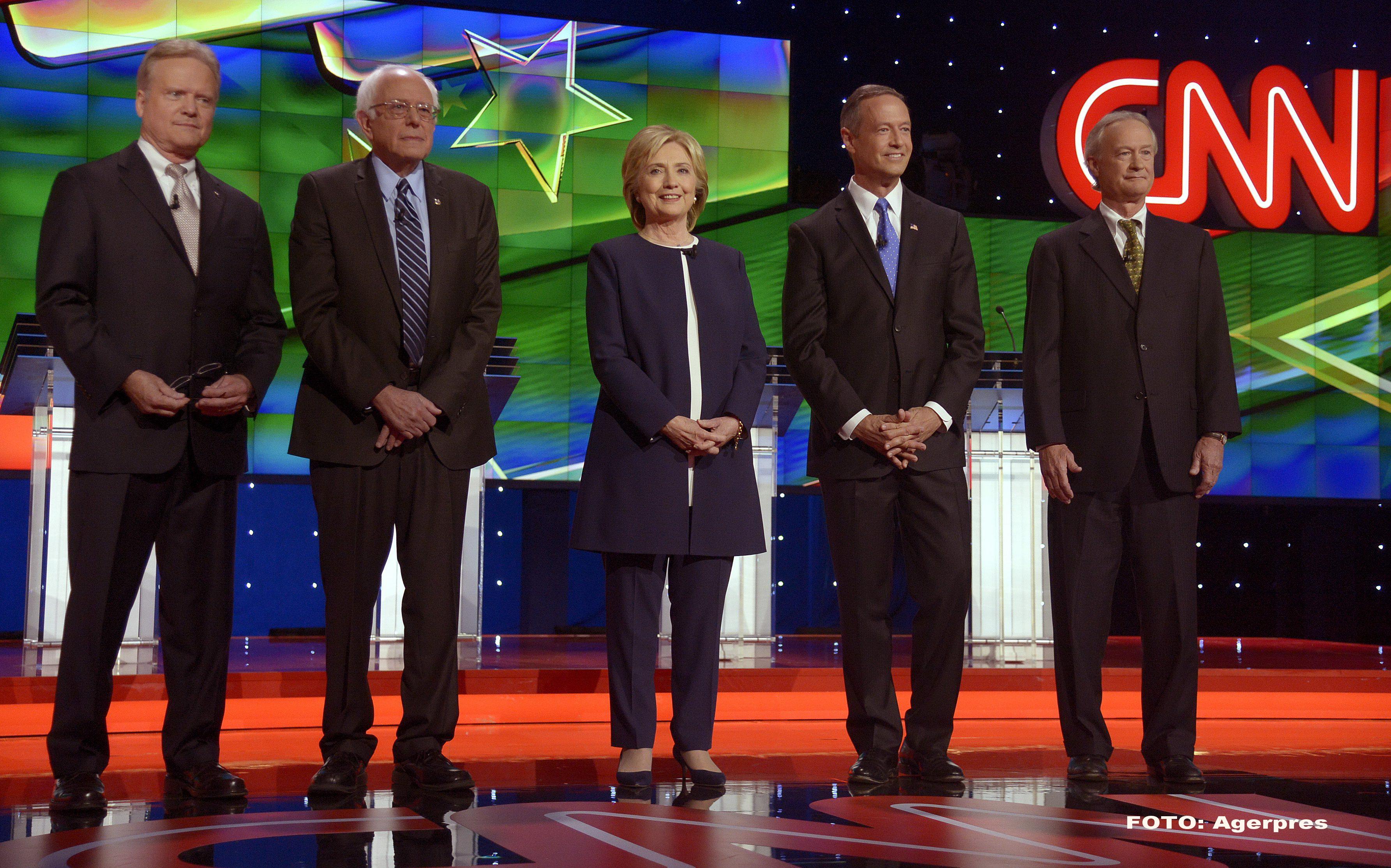Alegeri prezidentiale in SUA 2016. Hillary Clinton a primit un ajutor neasteptat in prima dezbatere a candidatilor democrati