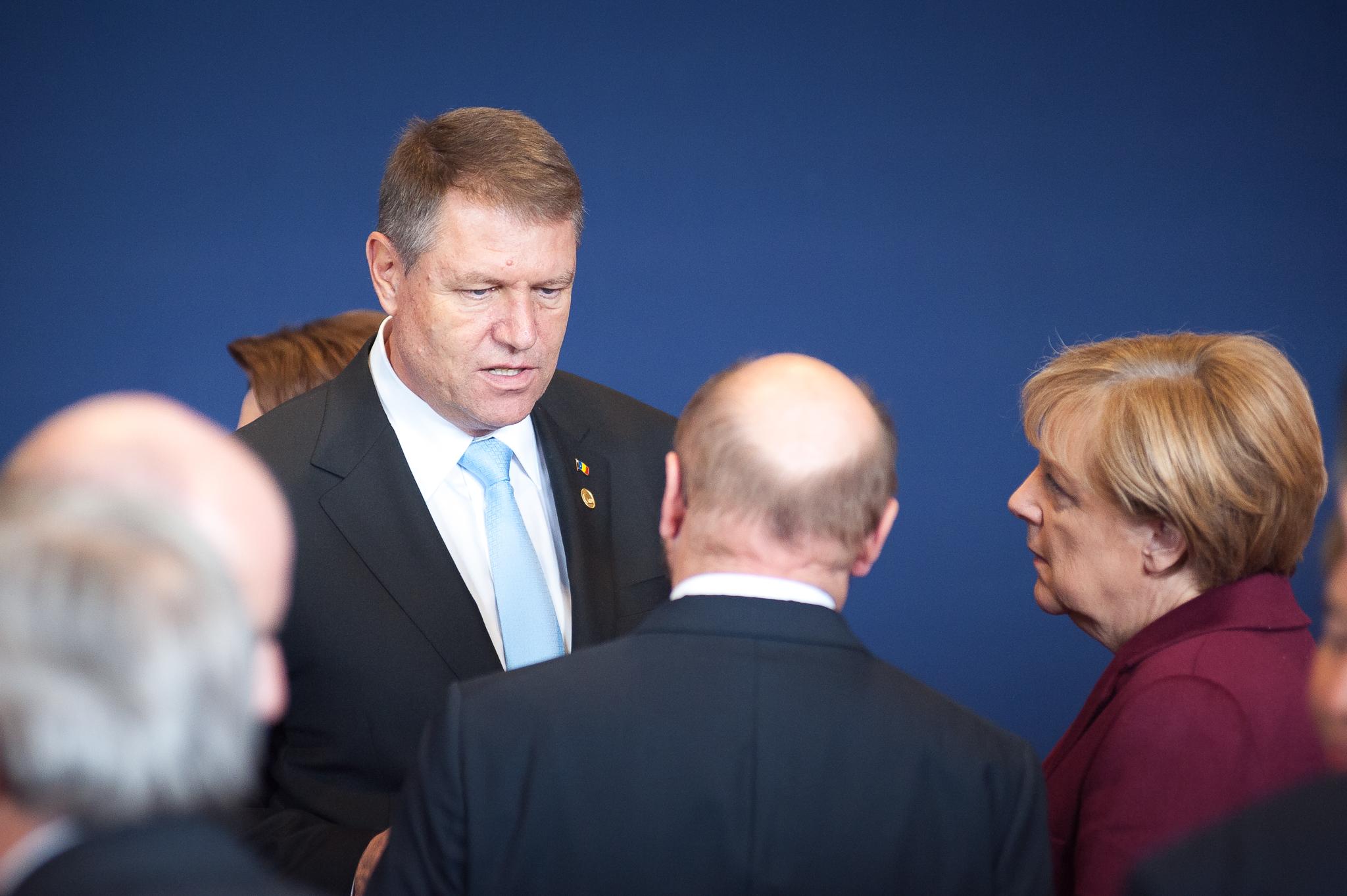 Iohannis, alaturi de Juncker si Merkel la Consiliul European. Mesajul presedintelui despre aderarea Romaniei la Schengen