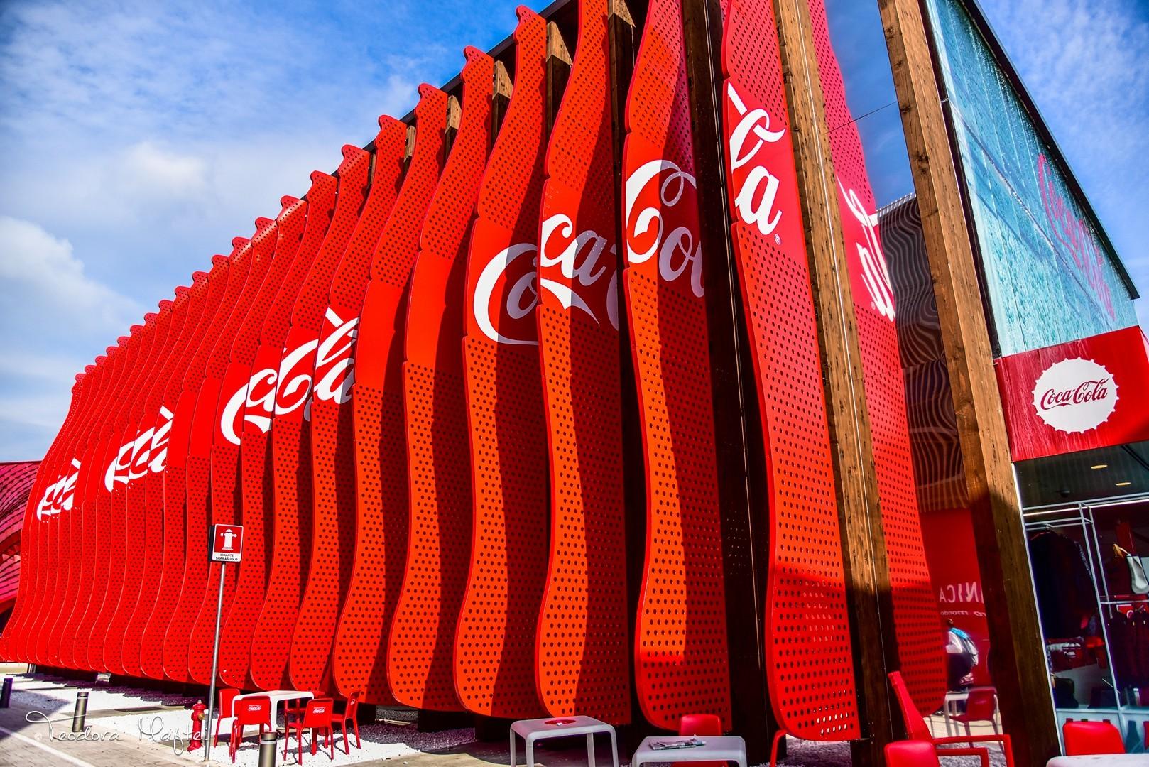 (P) O cascada spectaculoasa in loc de aer conditionat si un pavilion ce va deveni sala de baschet. Coca-Cola la Expo Milano