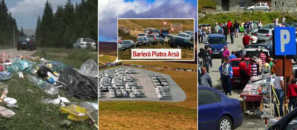 Strategiile de turism transforma Bucegii intr-o mare parcare.