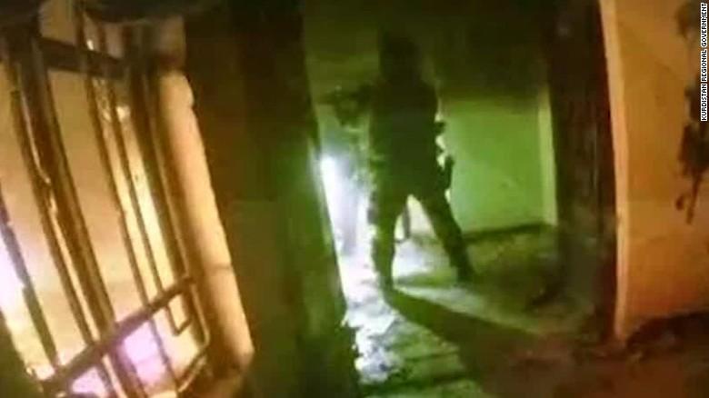 Momentul in care cei 70 de ostatici ai SI au fost salvati. Kurdistan a publicat o inregistrare cu fortele speciale in actiune