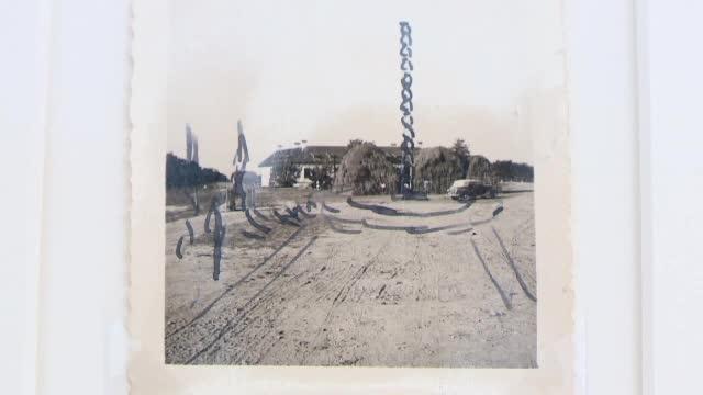 Coloana Infinitului, in schita pe care Brancusi a realizat-o inainte de constructie. Fotografia va fi expusa in premiera