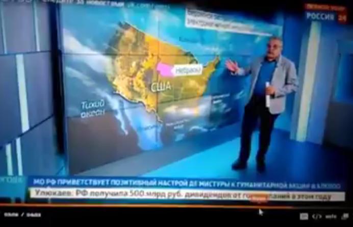 Televiziunea de stat rusa a comentat un posibil atac nuclear asupra Americii. Clipul interzis de Kremlin