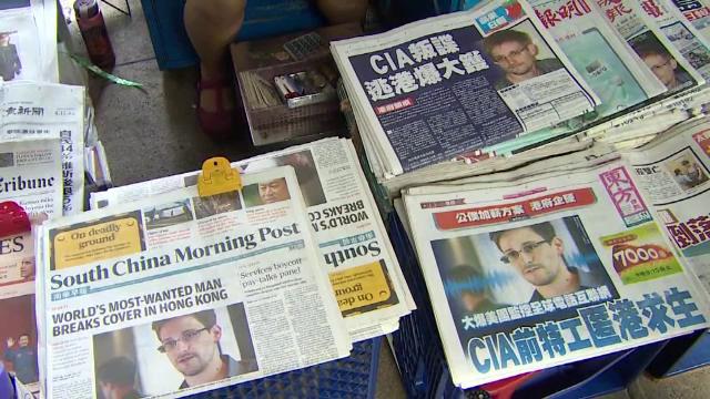 CNN a descoperit persoanele care l-au ascuns la Snowden, la Hong Kong: