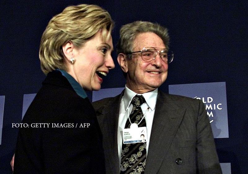 Legaturile dintre George Soros si cei doi candidati la presedintia SUA. Miliardarul maghiar, subiect de atac pentru Trump