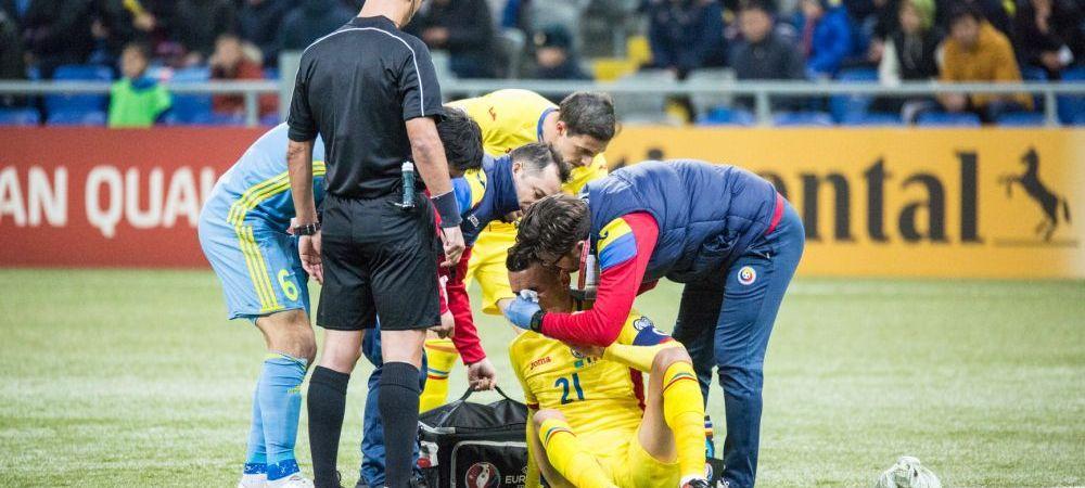 Kazahstan - Romania 0-0, in preliminariile pentru CM 2018. Daum: Jucatorii au trecut prin iad, trebuie sa fim mandri de ei
