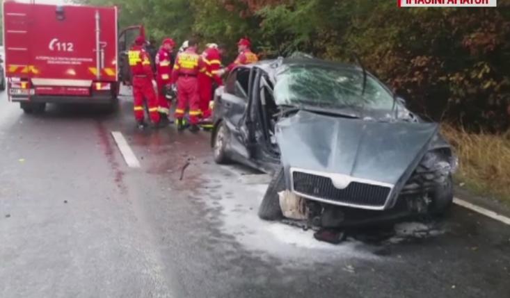 Grav accident in apropiere de Costinesti. Doua persoane au murit si una a fost ranita dupa ce doua masini s-au ciocnit