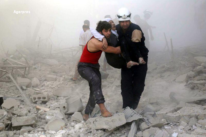 Avioanele ruse continua bombardamentele in Siria, iar SUA examineaza optiuni militare. Al-Assad: