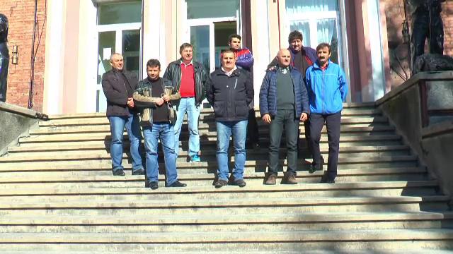 Zece lideri sindicali s-au blocat in sediul Complexului Energetic Petrosani. Motivele pentru care acestia protesteaza