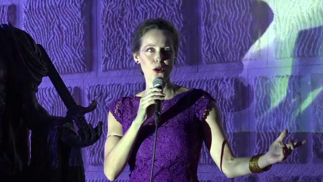 Recital special sustinut de Valerie Ciolos, la Alba Iulia.