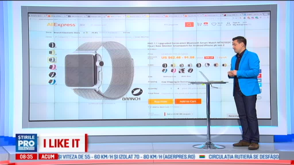 iLikeIT. China, tara care copiaza absolut orice, la preturi de nimic. Cum arata o replica Apple Watch sau Porsche Macan