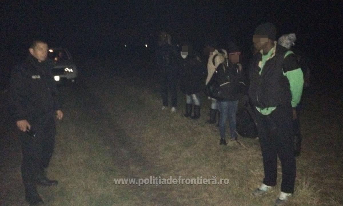 7 nigerieni, prinsi de politia de frontiera. Motivul pentru care risca sa ajunga in Serbia