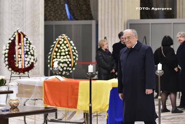 Radu Campeanu va fi inmormantat la cimitirul Bellu din Bucuresti. Ion Iliescu: