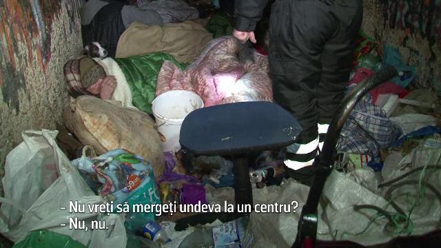 In Botosani exista peste 110 persoane fara adapost, iar doua deja si-au pierdut viata.