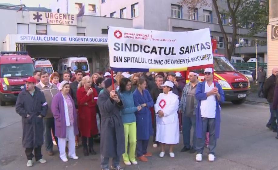Greva Federatiei SANITAS a fost ilegala, conform Tribunalului Bucuresti. Decizia poate fi contestata