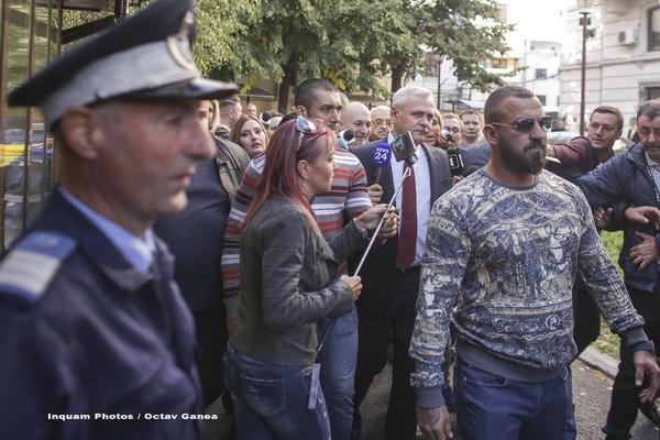Numeroși jandarmi, trimiși să-l păzească pe Dragnea la ICCJ. Șeful PSD nu a mai venit