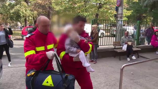 Șapte frați au ajuns la spital, după ce s-ar fi intoxicat cu monoxid de carbon