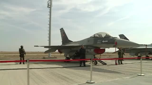 Ultimele trei aeronave F-16 Fighting Falcon au intrat în dotarea Armatei Române