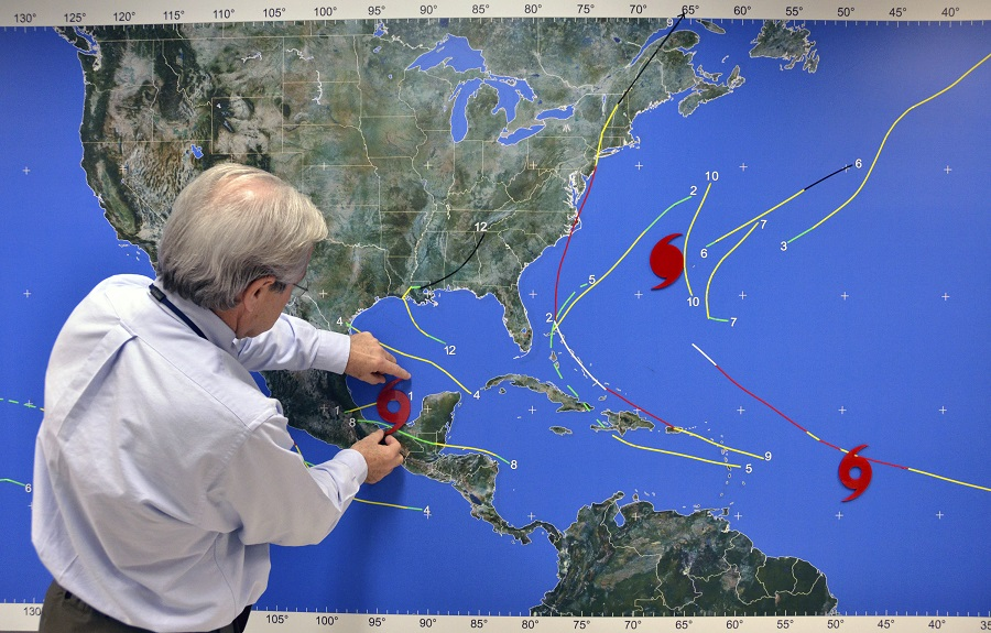Oraşul New Orleans se pregăteşte să fie lovit de un nou uragan.