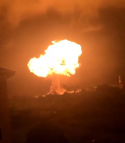 Explozie la o stație de gaz lichefiat din Ghana. Numărul victimelor, necunoscut