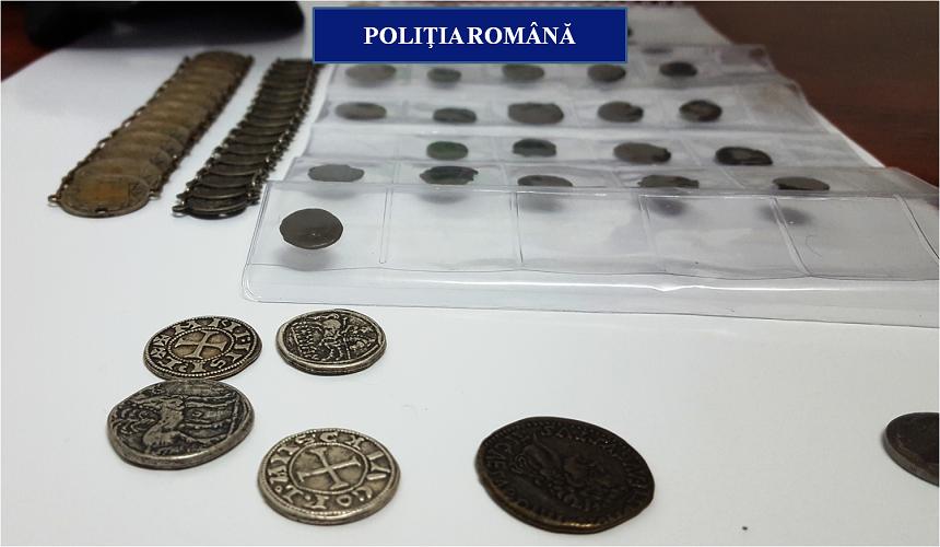 5.000 de obiecte arheologice, descoperite în casele unor căutători de comori din Vestul țării
