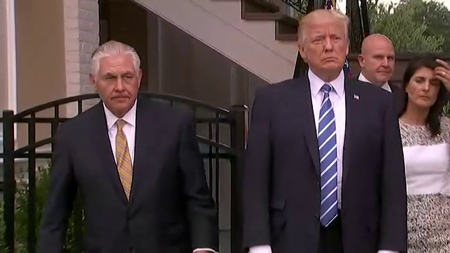 """Trump despre Tillerson: """"Să comparăm testele IQ. Vă spun eu cine câștigă"""""""