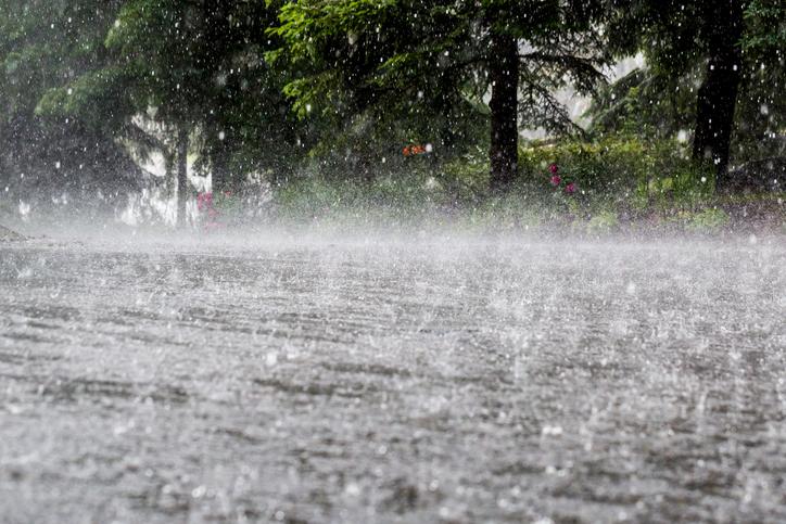 Cod portocaliu de ploi în București