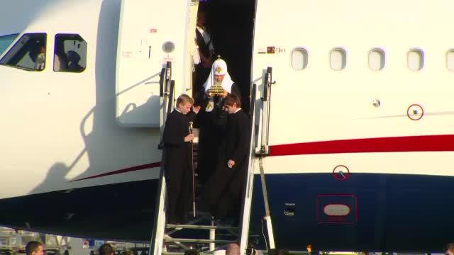 Patriarhul Kiril a ajuns la București, cu moaște. Mesaj pentru