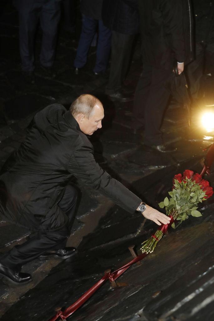 Putin a inaugurat primul memorial din Rusia, dedicat victimelor dictaturii lui Stalin