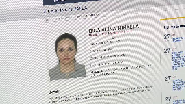 Decizia magistraţilor din Costa Rica în cazul Alinei Bica, fosta şefă DIICOT