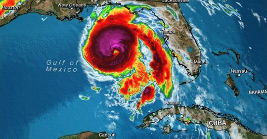 """CNN: De ce este uraganul Michael un """"monstru"""" cum nu s-a mai văzut"""