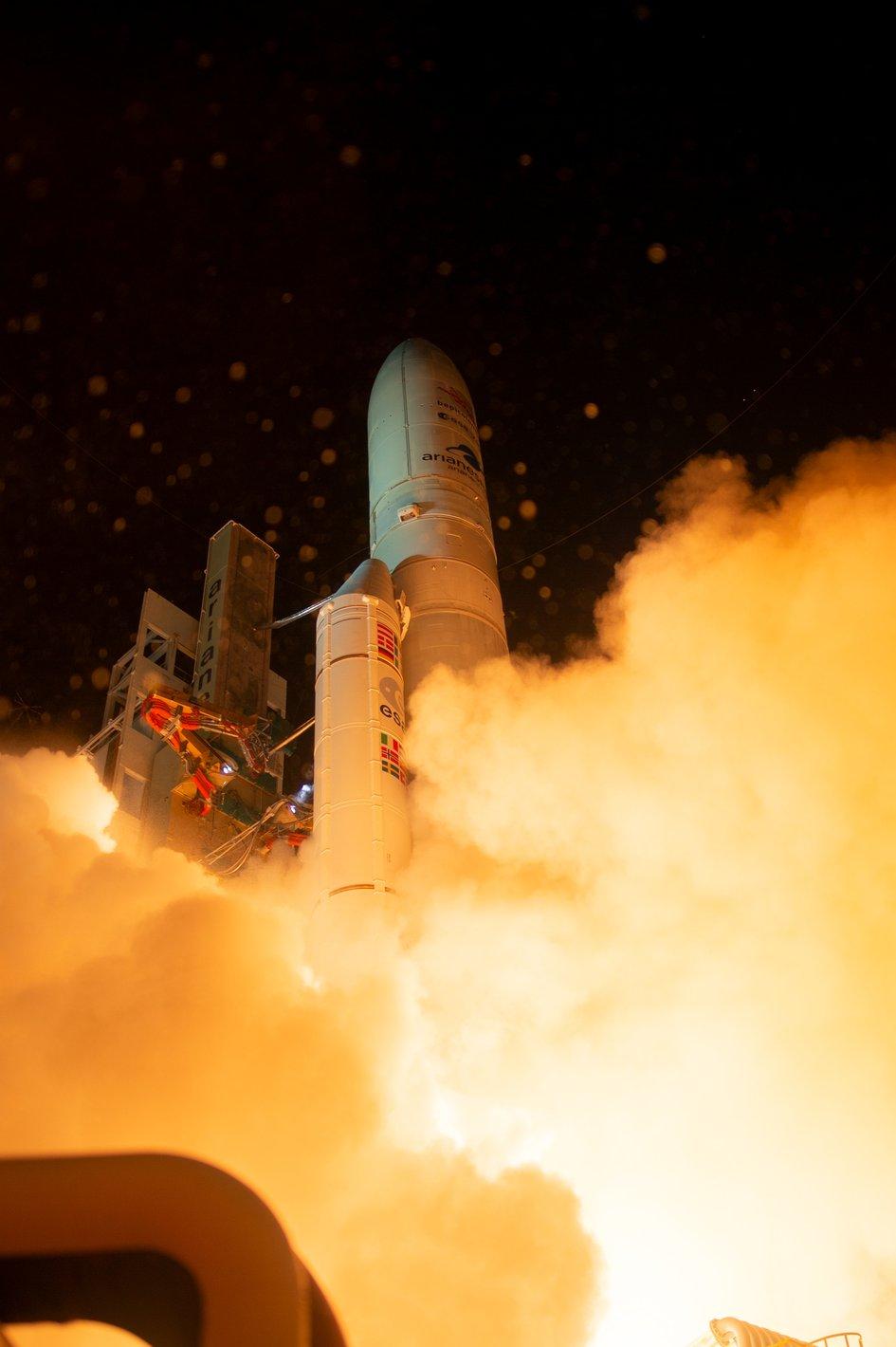 A fost lansată prima misiune spaţială europeană către planeta Mercur. VIDEO