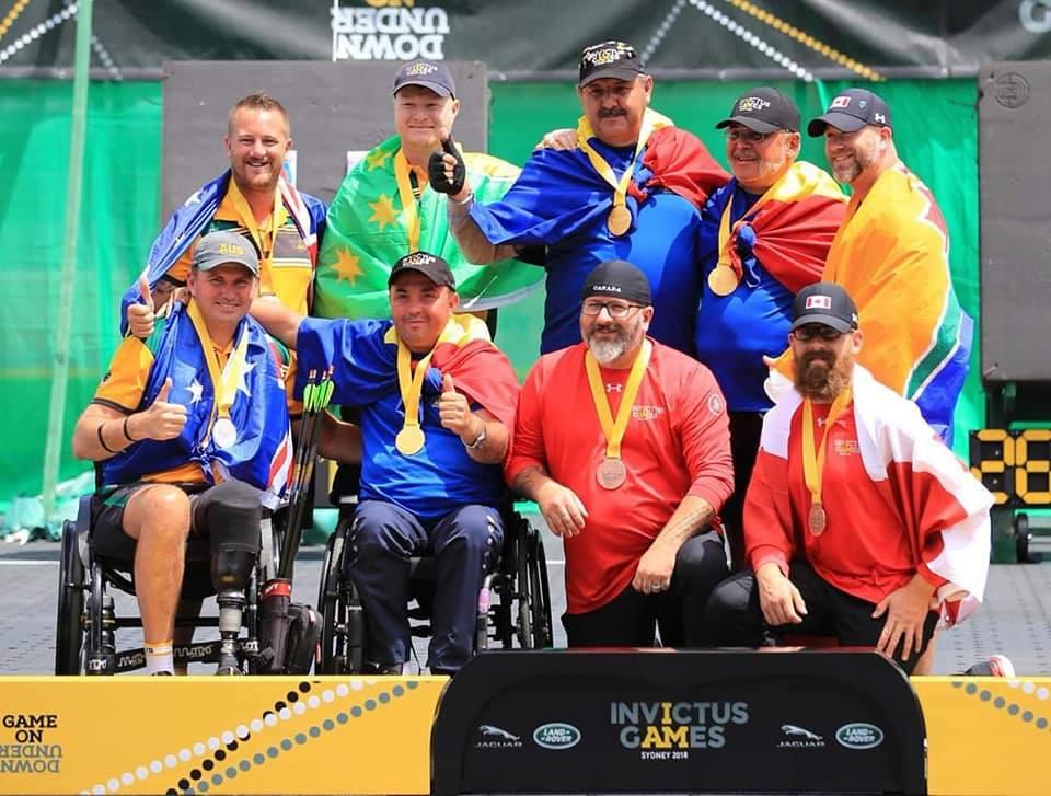 Jocurile Invictus 2018: România a cucerit 2 medalii de aur, una de argint şi una de bronz la tir cu arcul