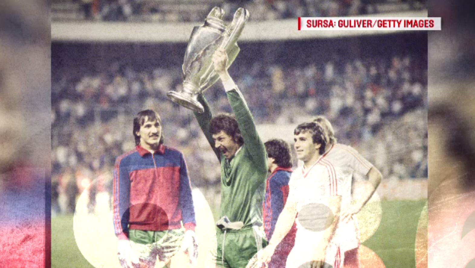 """""""100 de ani în 100 de zile"""". 1986 - Echipa de fotbal Steaua câştiga Cupa Campionilor Europeni"""