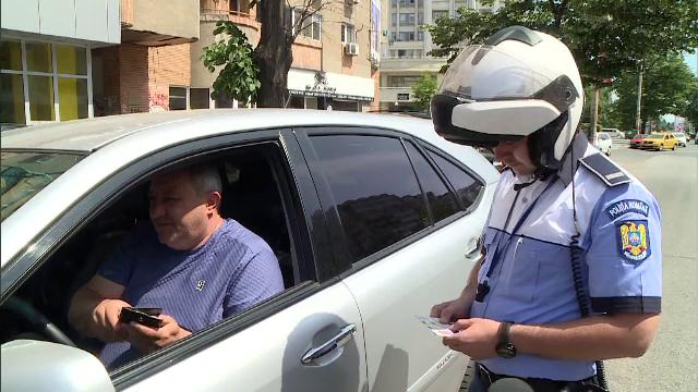 Primele sancțiuni pentru șoferii care au încălcat noul cod rutier