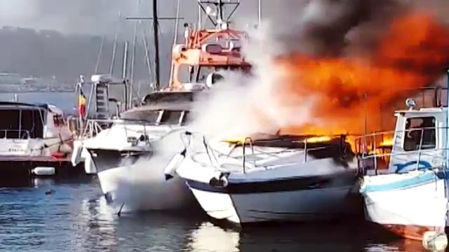 Cui aparține barca de 30.000 de € care a explodat în portul Tomis