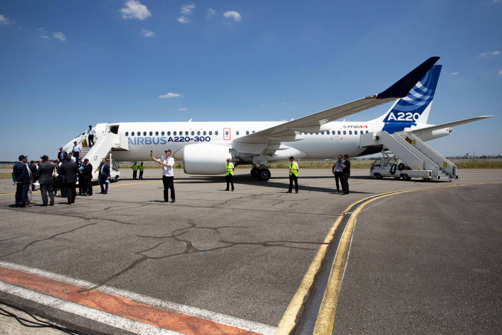 Zeci de avioane Airbus oprite la sol, după un