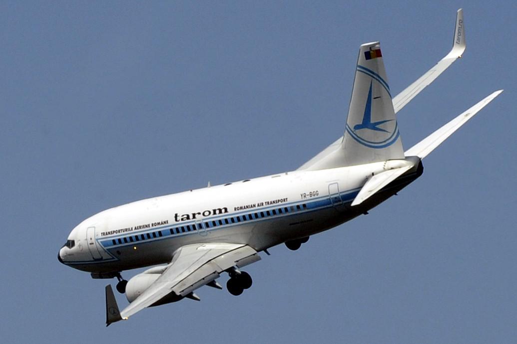Incident grav într-un avion Tarom. Unui co-pilot i s-a făcut rău chiar în timpul zborului