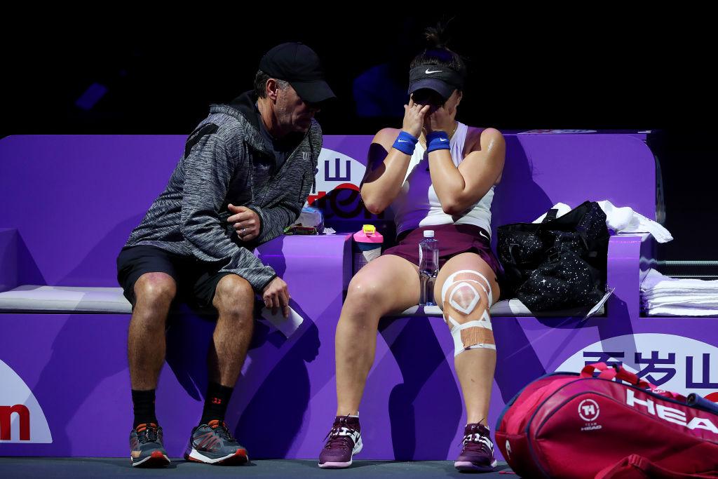 Bianca Andreescu a abandonat meciul cu Pliskova după primul set. Ce s-a îmtâmplat