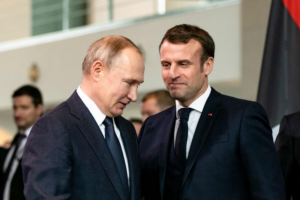 Convorbire telefonică între Macron și Putin. Ce a cerut președintele francez