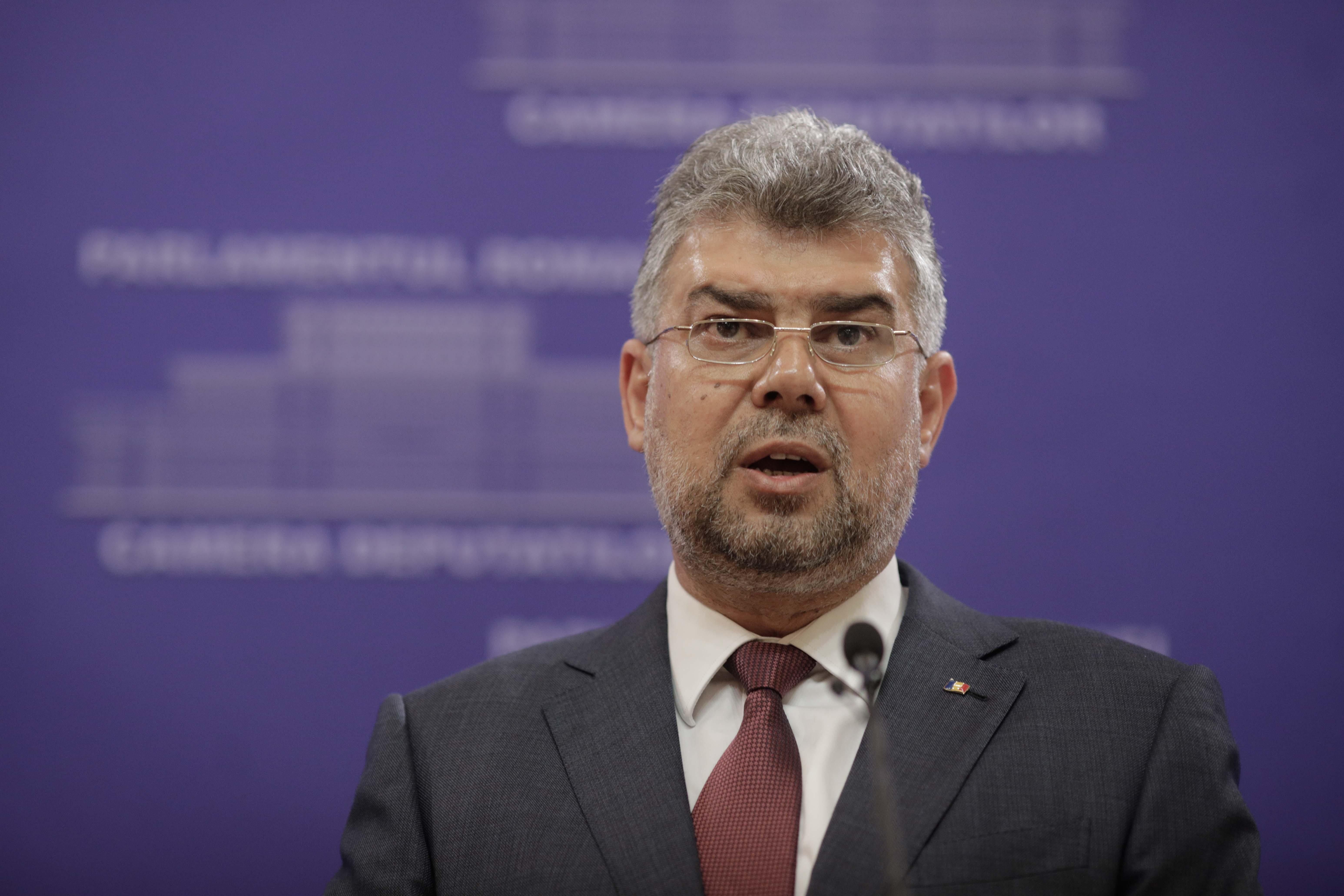 Ciolacu: Ca şi Elveţiei, nimeni nu ne dă şanse azi la moţiunea de cenzură. Ne vom bate până la ultimul vot