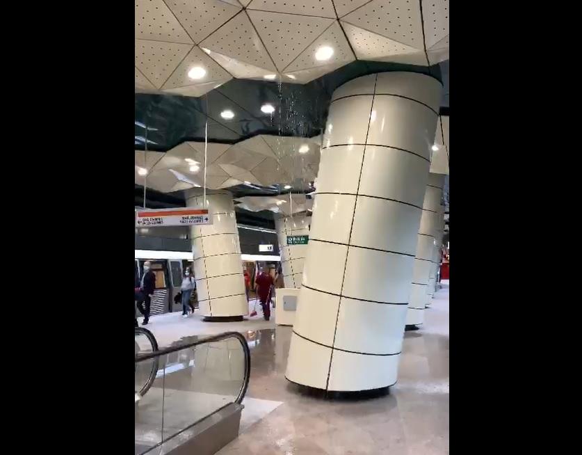 Explicațiile Metrorex după imaginile cu apa care curge din tavan în metroul Drumul Taberei, abia inaugurat. VIDEO